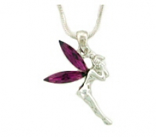 austrian crystal tinker bell necklace