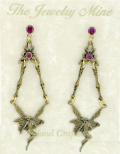 Vintage Reproduction Fairy Earrings