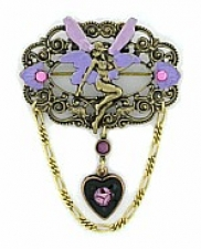 fashion jewelry fairy brooch