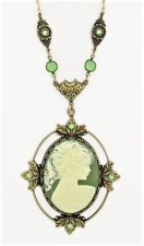 Vintage Reproduction Victorian Style Cameo Necklace
