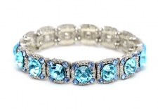 Tiffany inspired Legacy style Austrian crystal costume bracelet