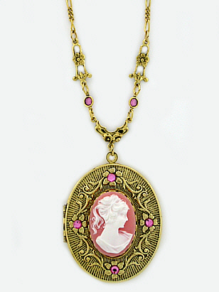Cameo Lockets
