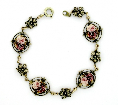 Vintage Reproduction Victorian Style Costume Bracelet