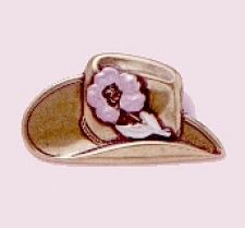 southwest cowboy hat fashion pin