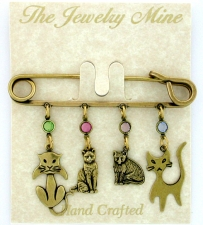 vintage cat jewelry,fashion jewelry cat pin
