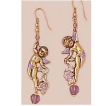 angel earrings,victorian fashion earrings