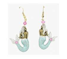 mermaid fashion earrings