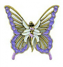 vintage fashion butterfly brooch