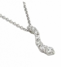 cz journey fashion necklace