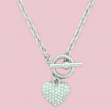 tiffany heart toggle necklace