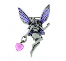 vintage fashion fairy pin